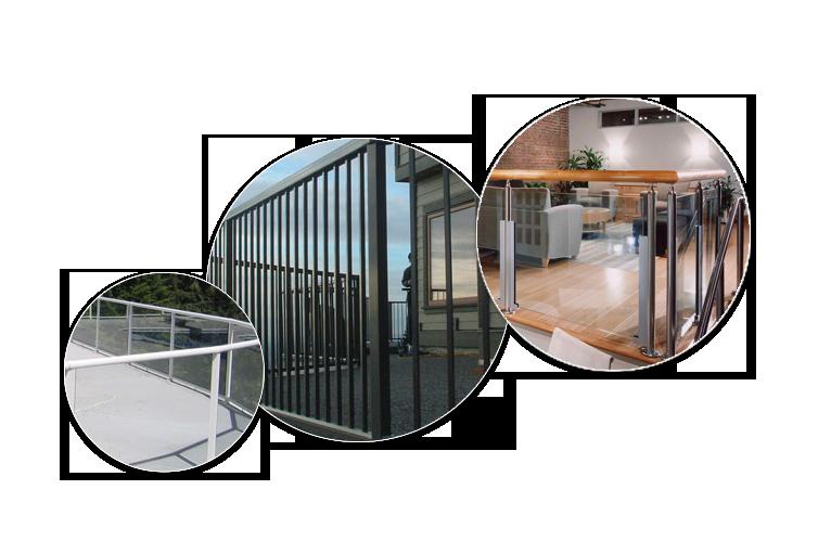 Aluminum-Glass-&-Picket-Railing